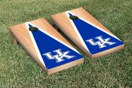 Kentucky Wildcats Hardcourt Triangle Cornhole Game Set