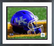 Kentucky Wildcats Helmet Framed Photo