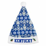 Kentucky Wildcats Knit Santa Hat