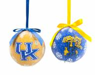 Kentucky Wildcats LED Boxed Ornament Set