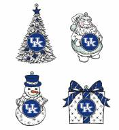 Kentucky Wildcats LED Christmas Tree Ornaments