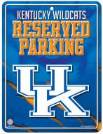 Kentucky Wildcats Metal Parking Sign