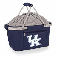 Kentucky Wildcats Navy Metro Picnic Basket