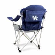 Kentucky Wildcats Navy Reclining Camp Chair
