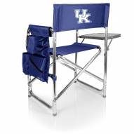 Kentucky Wildcats Navy Sports Folding Chair