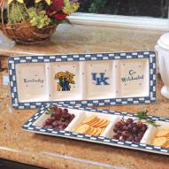Kentucky Wildcats NCAA Ceramic Relish Tray