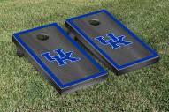 Kentucky Wildcats Onyx Stained Border Cornhole Game Set