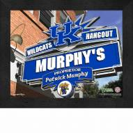 Kentucky Wildcats Personalized Framed Sports Pub Print