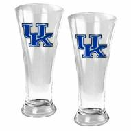 Kentucky Wildcats College 2-Piece Pilsner Glass Set
