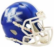 Kentucky Wildcats Riddell Speed Mini Replica Football Helmet
