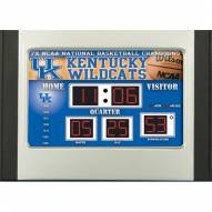 Kentucky Wildcats Scoreboard Desk Clock