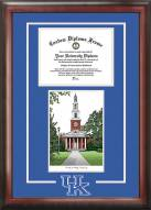 Kentucky Wildcats Spirit Diploma Frame with Campus Image