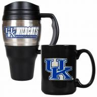 Kentucky Wildcats Travel Mug & Coffee Mug Set