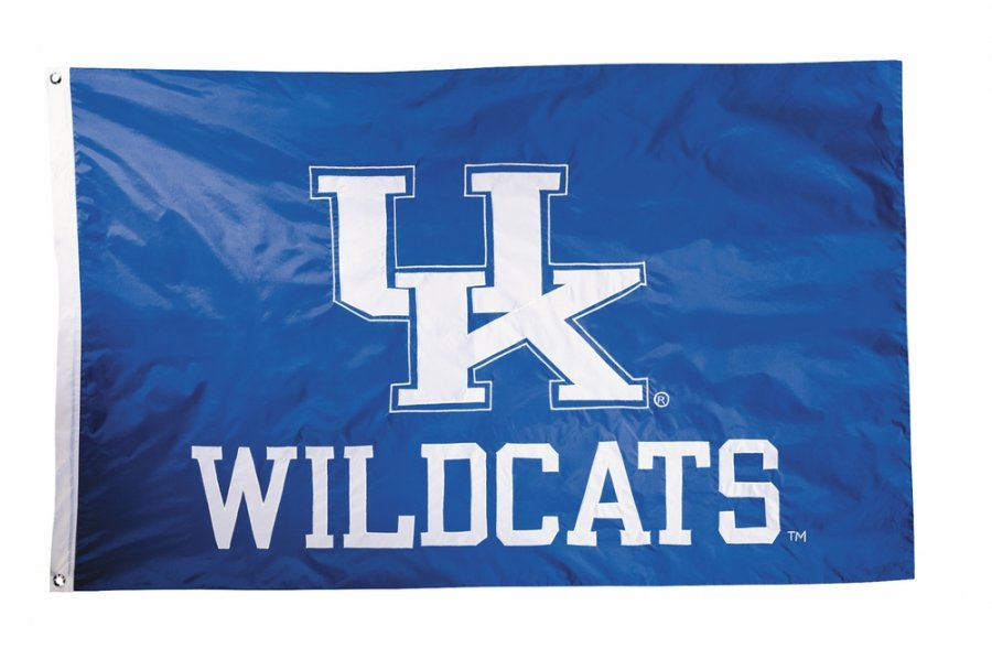 Kentucky Wildcats Two Sided 3' x 5' Flag