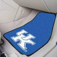 "Kentucky Wildcats ""UK"" 2-Piece Carpet Car Mats"