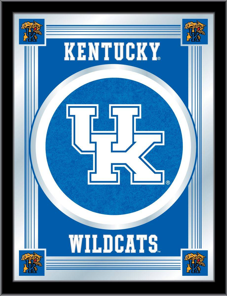 Kentucky Wildcats Uk Logo Mirror
