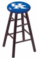 Kentucky Wildcats Maple Wood Bar Stool