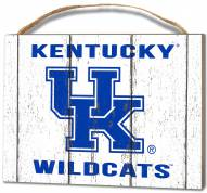 Kentucky Wildcats Weathered Logo Small Plaque