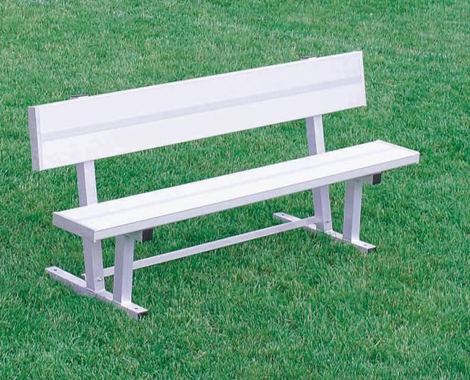 Kwik Goal 6 39 Bench With Back