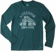 Life is Good Men's Crusher Long Sleeve Cabin Fever Shirt