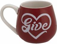 Life is Good Good Cheer Mug Give Heart