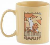 Life is Good Jakes Simplify Adirondack Mug - Soft Yellow