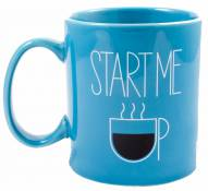 Life is Good Jakes Start Me Up Mug - Bright Blue