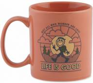 Life is Good Jakes Wander Jake Mug - Tawny Peach