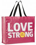 Life is Good Women's Love Strong Recycled Tote