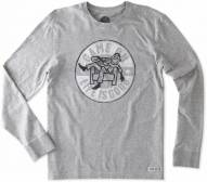Life is Good Men's Crusher Long Sleeve Game On