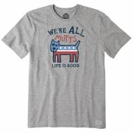 Life is Good Men's We're All Mutts Crusher T-Shirt