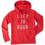 Life is Good Women's Go To Zip Hoodie