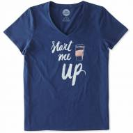 Life is Good Women's Start Me Up Lightweight Sleep Vee