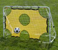 Lion Sports 3 in 1 6' x 4' Soccer Goal and Trainer