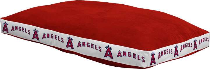 "Los Angeles Angels 26"""" x 37"""" Dog Bed"