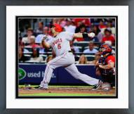 Los Angeles Angels Albert Pujols 2014 Action Framed Photo