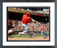 Los Angeles Angels Albert Pujols 2015 Action Framed Photo
