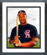 Los Angeles Angels Bo Jackson Posed Framed Photo