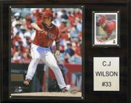 "Los Angeles Angels C.J. Wilson 12"" x 15"" Player Plaque"