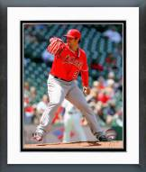 Los Angeles Angels C.J. Wilson 2014 Action Framed Photo