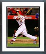 Los Angeles Angels Collin Cowgill 2014 Action Framed Photo