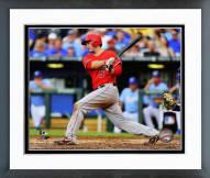Los Angeles Angels David Freese 2014 Action Framed Photo