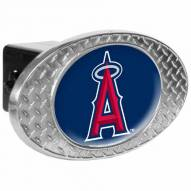 Los Angeles Angels Metal Diamond Plate Trailer Hitch Cover