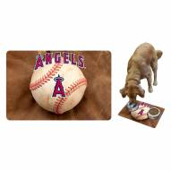 Los Angeles Angels Dog Bowl Mat