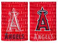 Los Angeles Angels Double Sided Glitter Flag