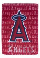 Los Angeles Angels Double Sided Glitter Garden Flag