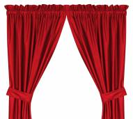 Los Angeles Angels Drapes / Curtains - Pair