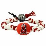Los Angeles Angels Frozen Rope Baseball Bracelet