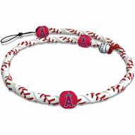 Los Angeles Angels Frozen Rope Baseball Necklace
