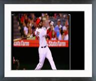 Los Angeles Angels Howie Kendrick 2014 Action Framed Photo
